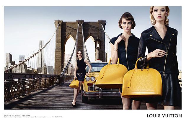 Louis Vuitton Alma campaign