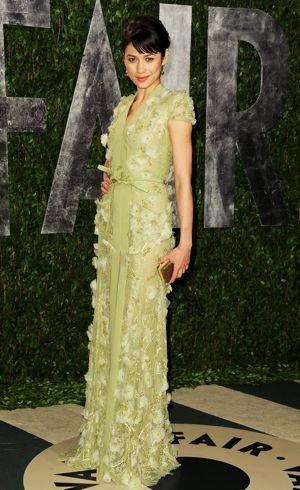 Olga Kurylenko 2012 Vanity Fair Oscar Party West Hollywood Feb 2012