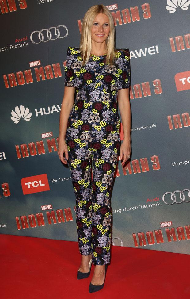 Premiere of 'Iron Man 3' in Paris
