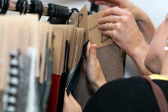 Fabrics at the Future Fabrics expo