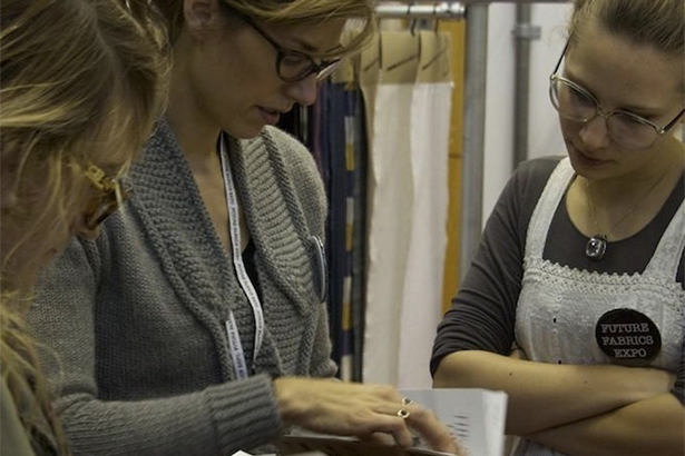 Nina Marenzi future fabrics expo
