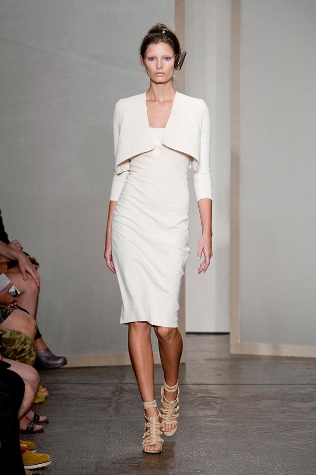 Donna Karan, Spring 2013 white look