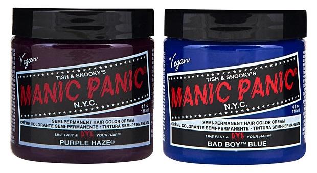 manic panic hair colour