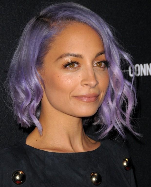 Nicole Richie Coloured Hair