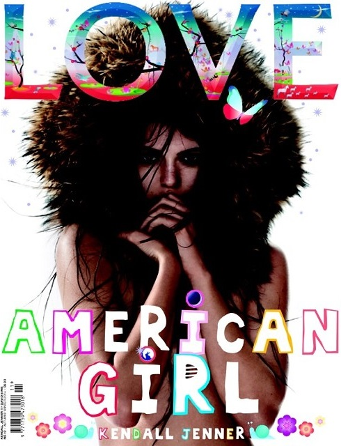 Love Magazine Fall 2014 Kendall Jenner David Sims