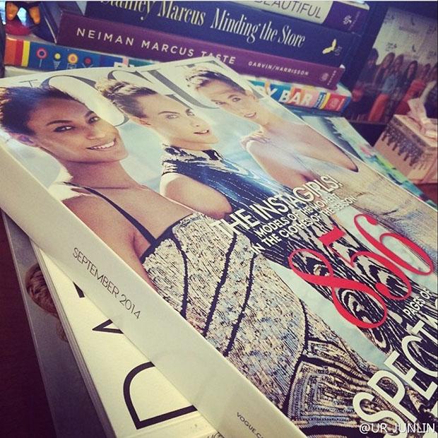 Cover Models of US Vogue September 2014