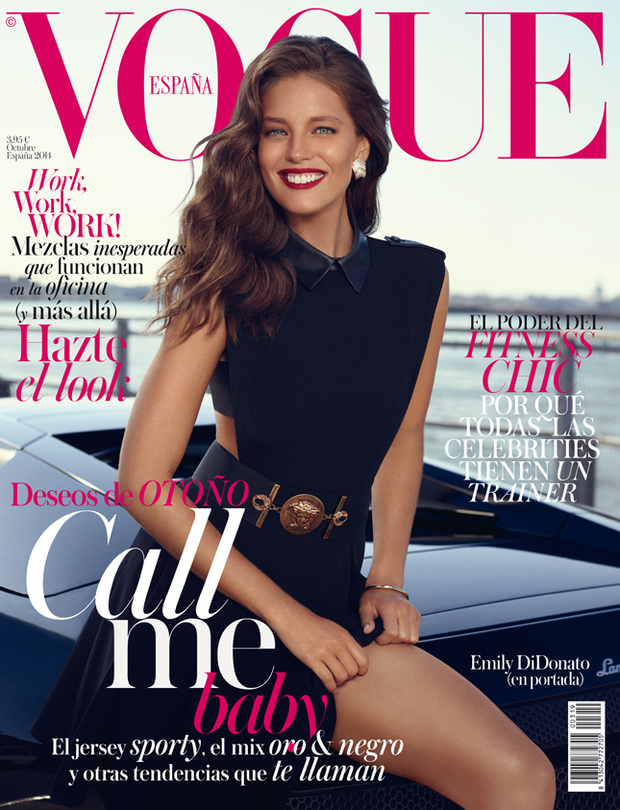 Vogue Spain Oct 14 Emily DiDonato