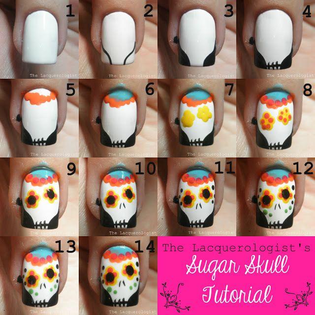 sugar skull calavera tutorial