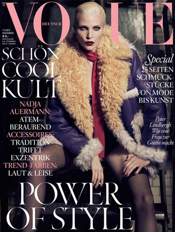 Vogue Germany November 2014 Nadja Auermann