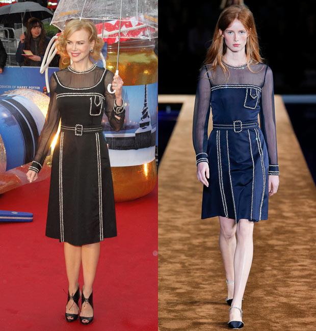 Nicole Kidman Paddington Premiere in Prada
