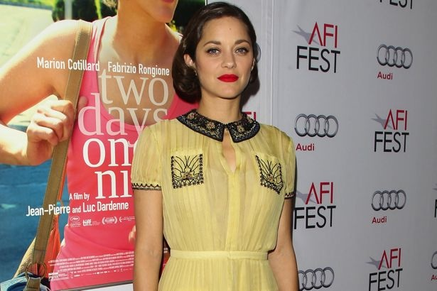 Marion Cotillard at the AFI Fest Screening of Two Days, One Night