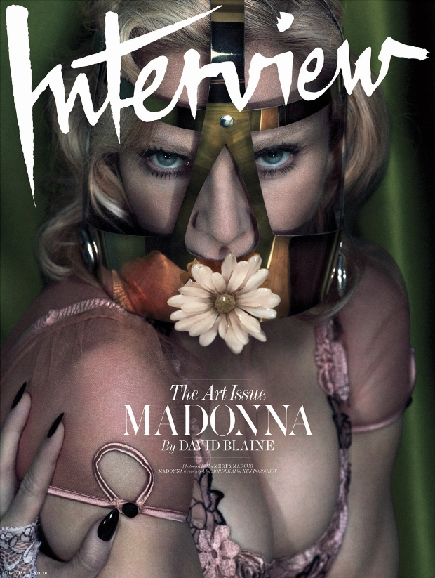 Interview December 2014 January 2015 Madonna
