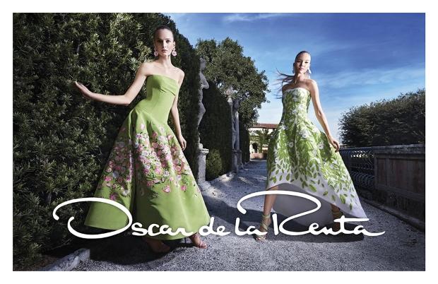 Ad Campaign Oscar de la Renta Spring 2015 Daria Sasha