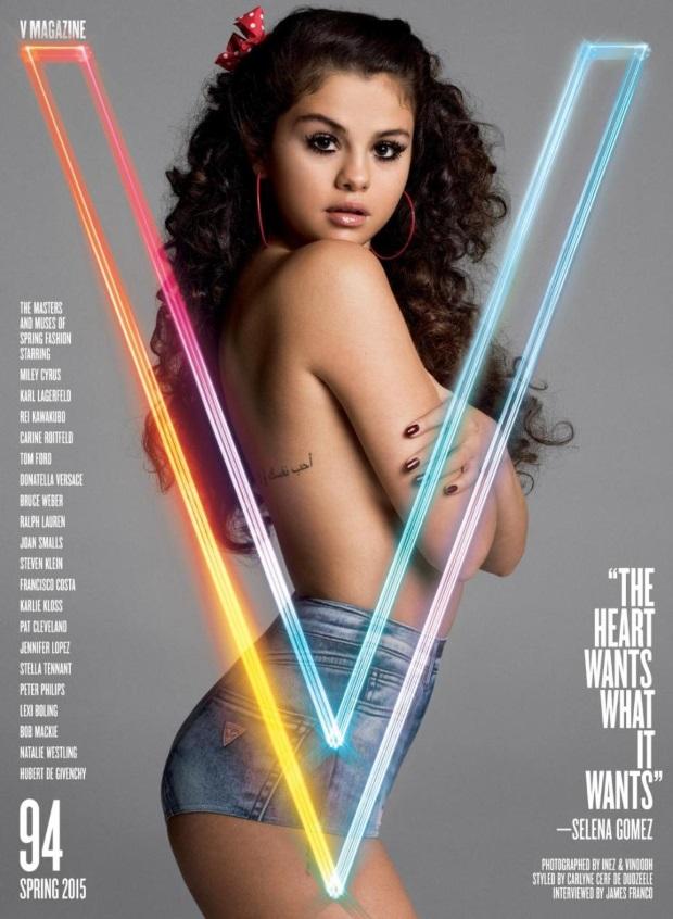 V Magazine Spring 2015 Selena Gomez Inez & Vinoodh
