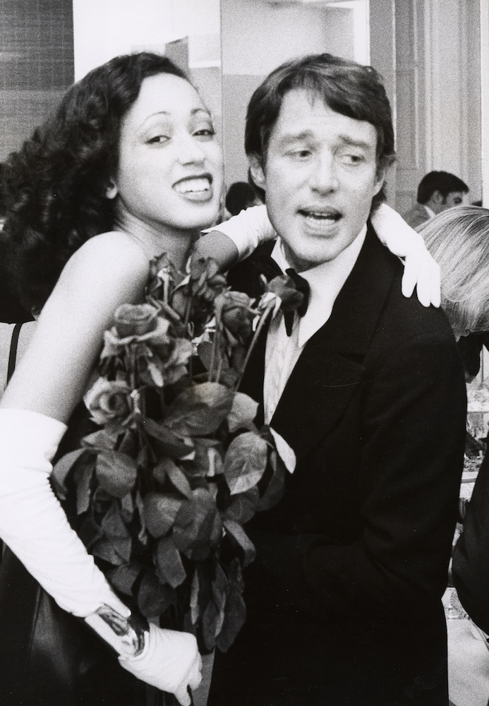 Pat Cleveland and Roy Halston in 1972; Image: Getty