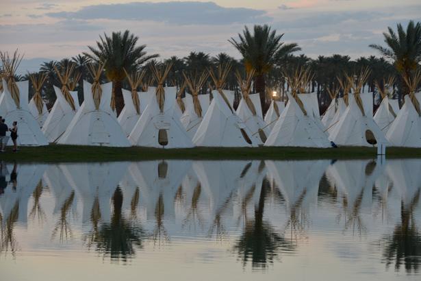 INDIO, CA - APRIL 11: The Empire Polo Field Prepares for the 2013 Coachella Music Festival at The Empire Polo Club on April 11, 2013 in Indio, California. (Photo by Frazer Harrison/Getty Images for Coachella)