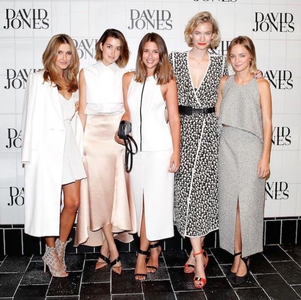 Fashion Bloggers at David Jones Fashion Launch