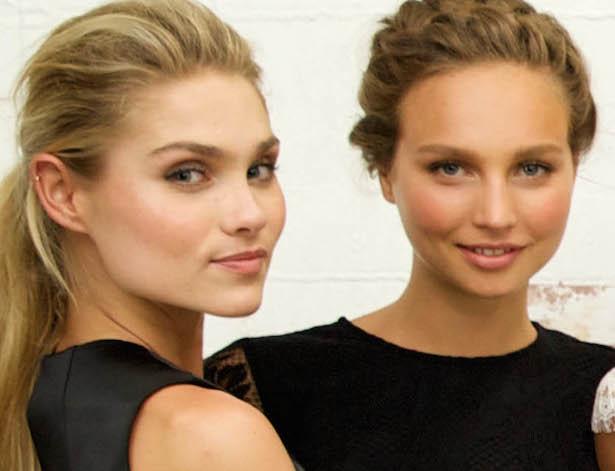 Alex and Izi from Australia's Next Top Model