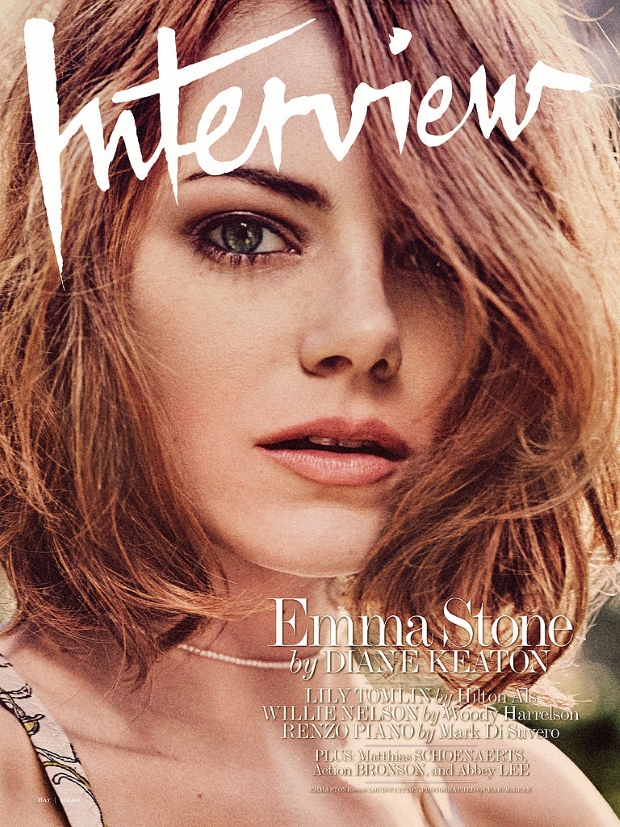 Interview May 2015 Emma Stone by Craig McDean