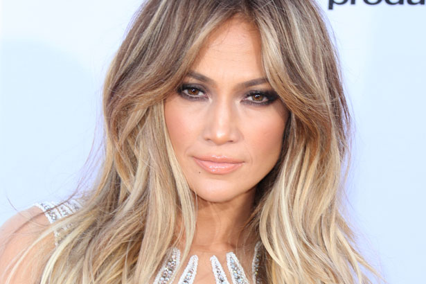 Jennifer Lopez lightens her trademark honey color for the 2015 Billboard Music Awards