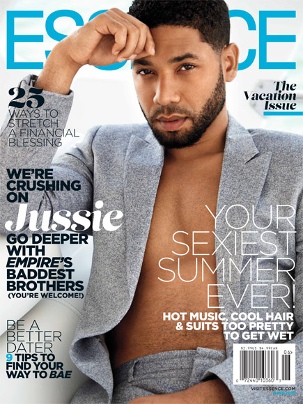 Jussie Smollet Essence cover