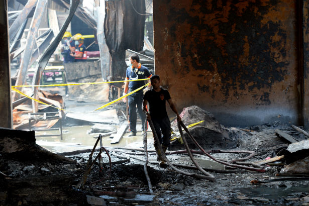 philippine factory fire