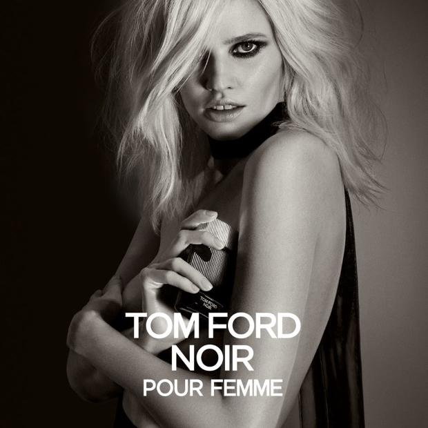 Ad Campaign Tom Ford Noir Pour Femme Lara Stone by Inez & Vinoodh
