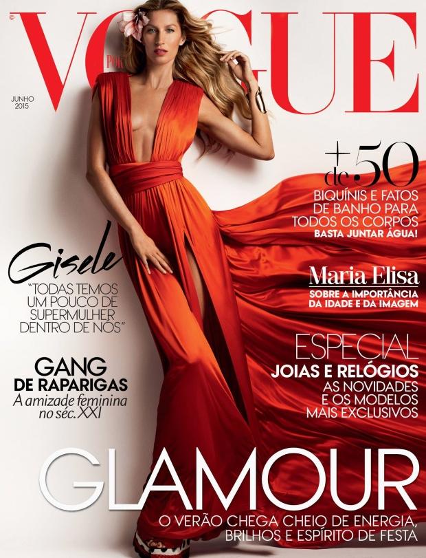 Vogue Portugal June 2015 Gisele Bundchen by Mario Testino
