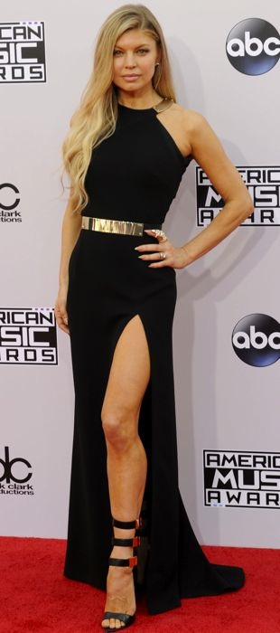 Fergie in Halston Heritage at the 2014 AMAs