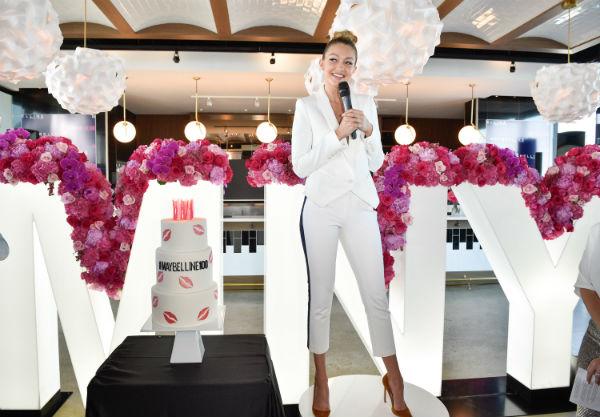 Gigi Hadid Visits Toronto For Maybelline's 100th Anniversary