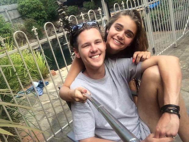 Lauren Ericson and boyfriend