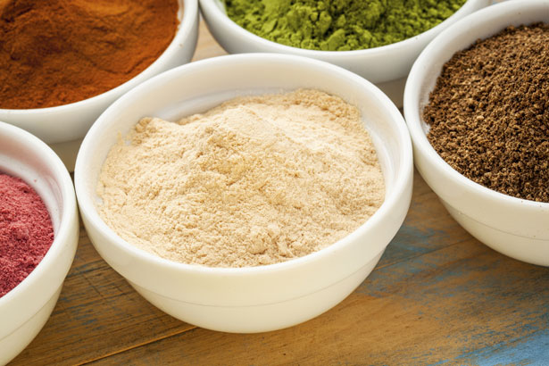 African baobab fruit - organic raw dry powder