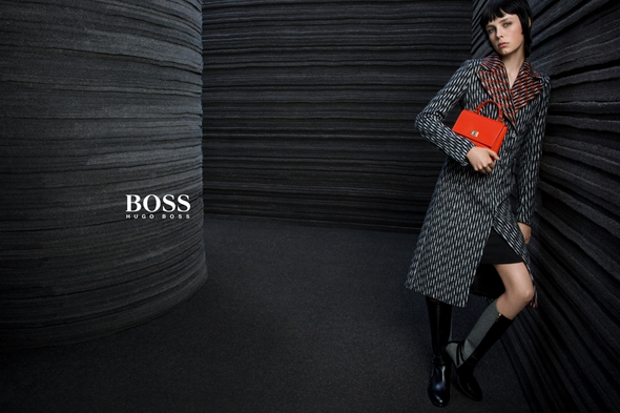 Ad Campaign Boss Fall 2015 Edie Campbell by Inez & Vinoodh
