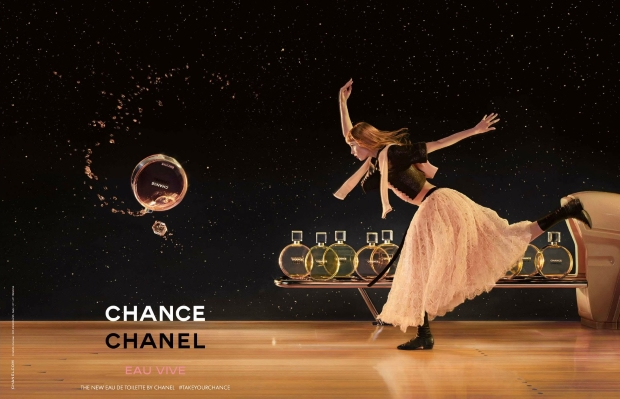 Chanel Chance Eau Vive Ad Campaign Rianne van Rompaey by Jean-Paul Goude