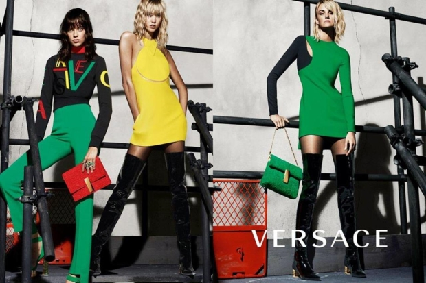 Versace Fall 2015 Campaign by Mert & Marcus