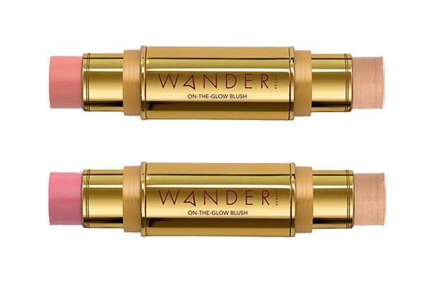 Wander Beauty On-the-Glow Blush & Illuminator Duo Stick, $35 each at QVC