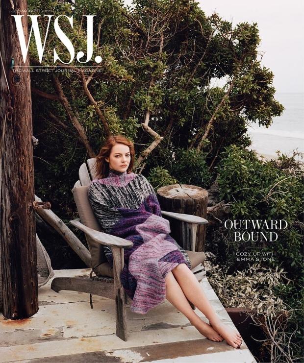 WSJ Magazine July/August 2015 Emma Stone by Angelo Penetta
