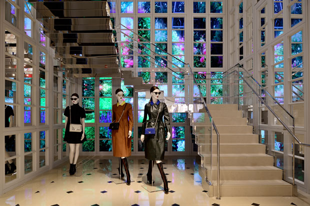 Christian Dior Boutique at the Fairmont Hotel Vancouver