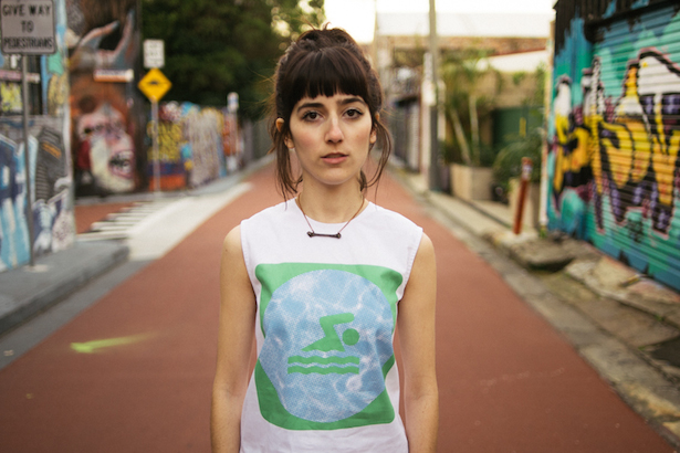Elizabeth Rose wears House of Cards top and Serpent & the Swan necklace
