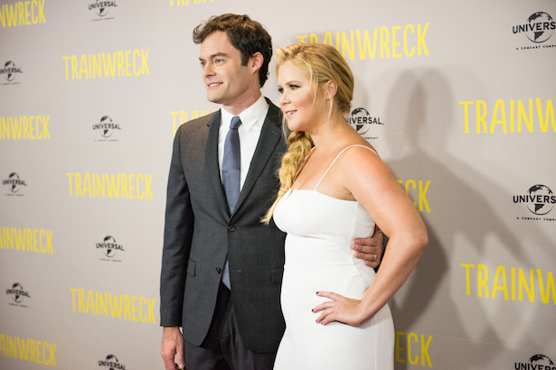 Bill Hader and Amy Schumer