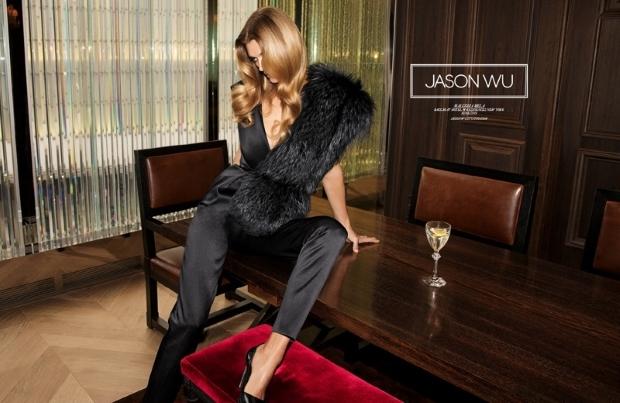 Jason Wu Fall 2015 Ad Campaign Malgosia Bela by Inez & Vinoodh