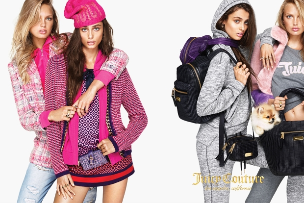 Juicy Couture Fall 2015 Ad Campaign by Mert Alas & Marcus Piggott