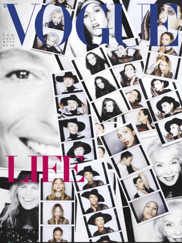 Vogue Italia July 2015 by Steven Meisel