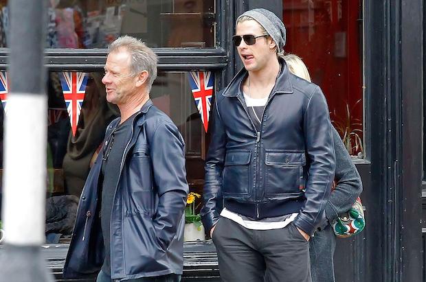 Chris Hemsworth and Dad Craig