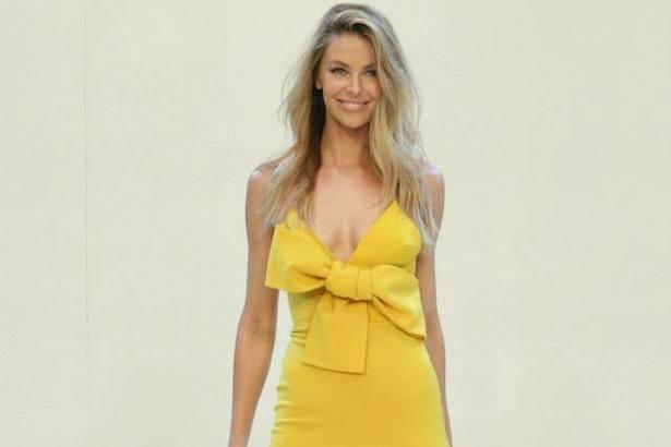 Jennifer Hawkins walks Myer fashion parade