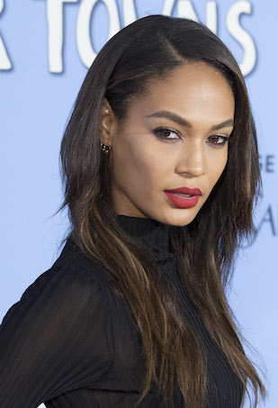 Joan Smalls at the Paper Towns Premiere