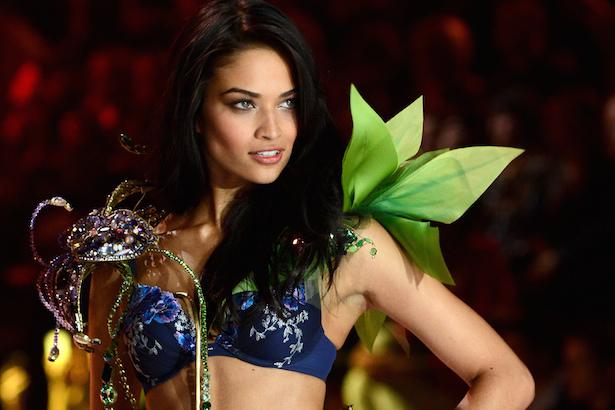 Shanina Shaik on Victoria's Secret Runway