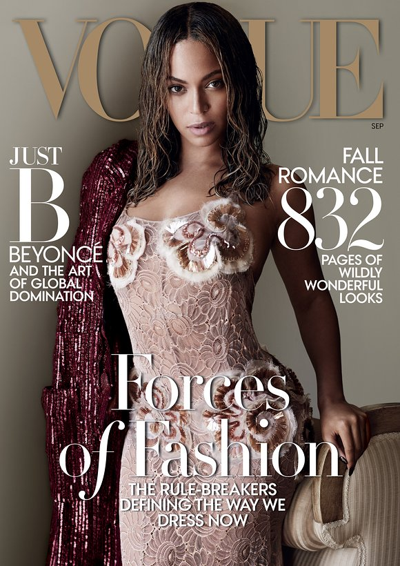 Beyonce vogue september issue