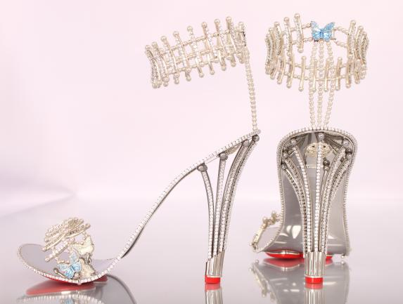 Beyonce diamond shoes