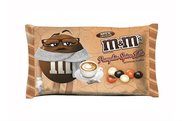 m&m pumpkin spice latte